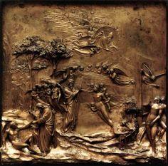 Adan y Eva de Ghiberti