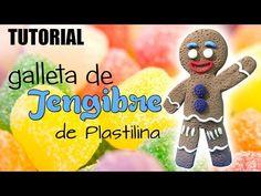 Tutorial Galleta de Jengibre (Shrek) de Plastilina - YouTube