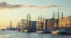 Dublin Tall ships 2012 Tall Ships, Dublin, New York Skyline, Landscapes, Travel, Paisajes, Scenery, Viajes, Destinations
