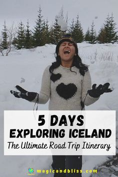 Iceland is the perfect adventure travel destination for you. It is still considered an off-beat travel destination by many. It is the ultimate destination for lots of adventure, road trips and scenic landscapes. Read more on my blog for a detailed 5 day Iceland road trip itinerary, what to pack for Iceland, travel tips and 15+ things to do in Iceland. | Future Travel Inspiration | Off the Beaten Track | #iceland #icelandtravel #offbeattravel Iceland Road Trip, Iceland Travel, Travel Itinerary Template, Europe Destinations, Short Trip, Future Travel, Beautiful Islands, Road Trips, Adventure Travel