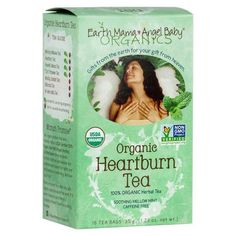 Shop the best Earth Mama Angel Baby Organic Heartburn Tea 16 Bag(s) products at Swanson Health Products. Trusted since we offer trusted quality and great value on Earth Mama Angel Baby Organic Heartburn Tea 16 Bag(s) products. Pregnancy Supplements, Pregnancy Vitamins, Pregnancy Info, Heartburn Symptoms, Heartburn Relief, Remedies For Nausea, Natural Remedies, Organic Herbal Tea