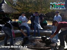 Axis Communications Potjiekos Cooking Competition team building event in Muldersdrift, facilitated and coordinated by TBAE Team Building and Events Cooking Competition, Country Hotel, Team Building Events, Story Setting, Sports, Nice, Hs Sports, Cook Off, Sport