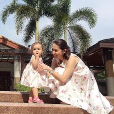 12 Times Marian Rivera and Baby Zia Proved They're the Best at Twinning | Preview.ph