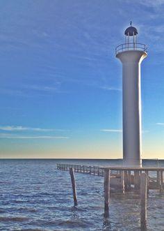 Mississippi gulf coast lighthouse | C Hatfield