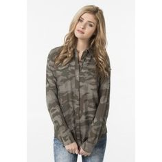 Get the latest trends in women's clothing at Ardene. Shop fashion tops, bottoms, dresses, and more in a variety of styles, fabrics and prints for all seasons. Girl Outfits, Fashion Outfits, Womens Fashion, Shirt Blouses, Shirts, Shirt Shop, Passion For Fashion, Latest Trends, Bomber Jacket
