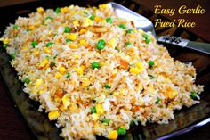 Hubby requested for Garlic Fried Rice for breakfast so I made it. Here's the recipe. Don't throw away that left-over rice and make this. Yum!