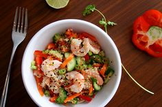 Creative food, Mushroom quinoa and Sprouts on Pinterest