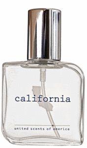 California perfume! Notes of coconut, eucalyptus, and vanilla.
