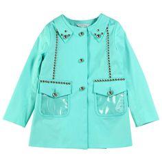 Little Marc Jacobs - Chlorophyll gabardine coat - 36761