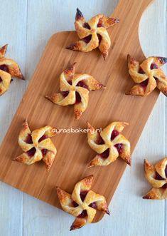 Cranberry bladerdeeg molentjes - Laura's Bakery