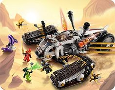 Lego Ninjago 9449 - Ultraschall Raider: Amazon.de: Spielzeug