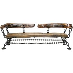 Check out the deal on James Sawtelle Long Studio Bench Of Shipwreck Wood