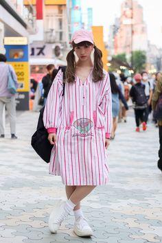 ストリートスナップ原宿 - micoさん - COMME des GARÇONS, TOKYO BOPPER, used, コムデギャルソン, トーキョーボッパー, 古着