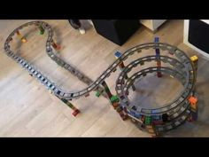 Lego Duplo Train - Carousel Level 1 - Train Circuit - YouTube