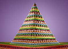 Photographer Sam Kaplan   Ordinary Foods Get Rearranged Into Psychedelic Pits and Pyramids - My Modern Met