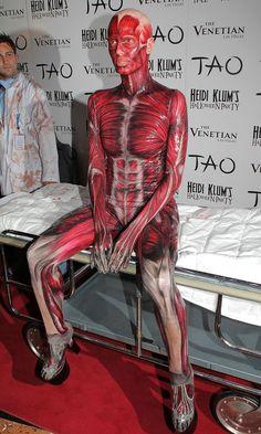 Les déguisements d'Hallowen d'Heidi Klum les plus extravagants : déguisement morte vivante