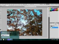 Replace sky using Channels. I LOVE doing it this way and needed a refresher. Found a great tute on YouTube #Photoshop