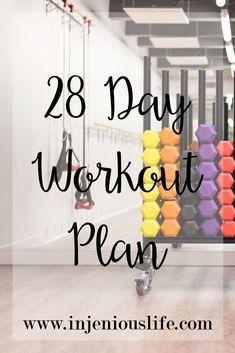 28 Day Workout Plan