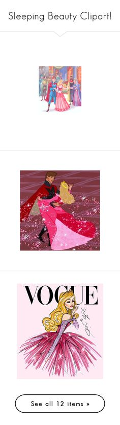 """""""Sleeping Beauty Clipart!"""" by vahrendsen1988 ❤ liked on Polyvore featuring disney, sleeping beauty, disney princesses, magazine, aurora, princess, characters, filler, art and backgrounds"""