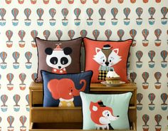 Posey Panda Cushion
