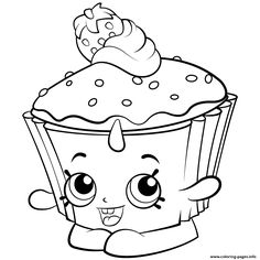 Print Exclusive Shopkins Colouring Free Coloring Pages Printable Shopkin