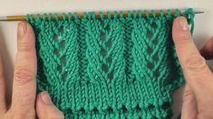 p/strickmuster-einfache-lacerippchen-stricken-und-hakeln-mit-elizzza - The world's most private search engine Baby Knitting Patterns, Knitting Videos, Easy Knitting, Knitting Stitches, Knitting Socks, Knitting Needles, Crochet Patterns, Crochet Pullover Pattern, Knit Crochet