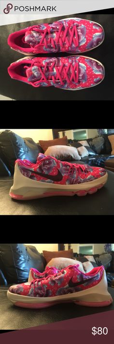 5bf6412e8b83 Description  NIKE KD 8 Aunt Pearl NWOT DS never tried on or worn No box.
