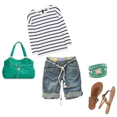 Summer Casual, created by natalie-moore-taras