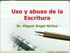 Uso y abuso de la escritura by Miguel Angel Nunez via slideshare