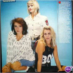 Bananarama. The confetti has all been swept away 1 page feature Smash Hits Mag