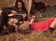 Wild World: Caroline Trentini, Hozier by Mikael Jansson for Vogue US June 2015 - Louis Vuitton Pre-Fall 2015