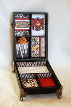 Diana's Place: Hinged Display Tray Workshop