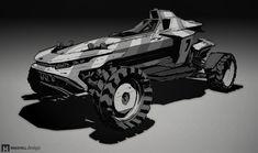 ArtStation - Intrinsic Vehicle Design part 2, Mike Hill