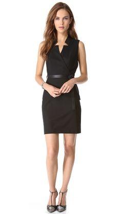 Rachel Zoe Charles Reverse Collar Dress. I like the style of this sheath dress