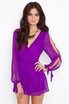 Violet Wrap Romper - StyleSays