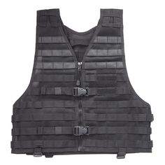5.11 Tactical MOLLE vest. I like the vest mostly for putting most used items in hands reach so when I'm hiking I don't have to stop and take the pack off every time I need the map/flashlight/binoculars/camera/power bar etc. $109.99  Full review and tactical load out provided by Nutnfacy: http://www.youtube.com/watch?v=AbZDH_haCzE