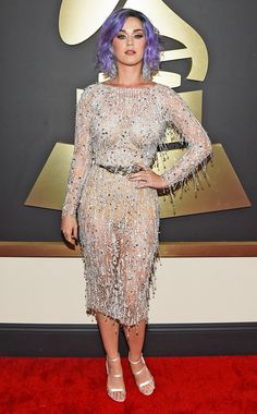 Grammys 2015 Red Carpet Arrivals: Who's Wearing What