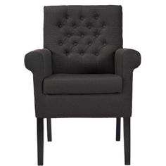 LOUISE Stuhl Grau - Stühle