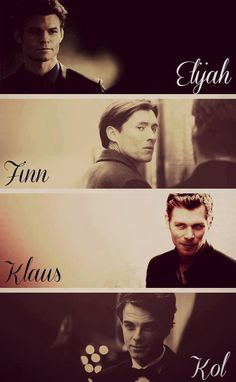 The Mikaelson Men