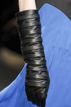 I think my obsession with opera gloves may need their own Board! Gareth Pugh at Paris Fashion Week Fall 2011 - StyleBistro