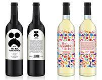 The man from Chuela & The spanish cliché - wines by jonas carlberg, via Behance