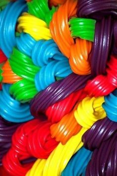 I LOVE licorice.Reading material and a bag of licorice and I'm good to go.reading material and licorice. Happy Colors, True Colors, All The Colors, Vibrant Colors, Taste The Rainbow, Over The Rainbow, World Of Color, Color Of Life, Rainbow Connection