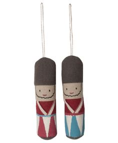 Maileg Skittle Ornaments, Set of Two