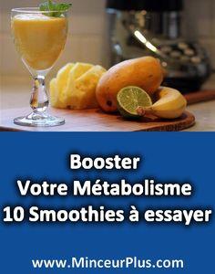 Booster Votre Métabolisme Pour Bien Maigrir – 10 Smoothies à essayer | Minceur+