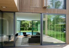 Artificially grayed larch | Architecture at Stylepark
