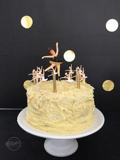 swan lake ballerina birthday party cake