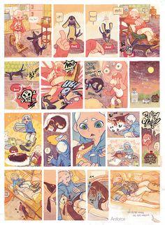 Comic Book Layout, Comic Books Art, Comic Art, Roman Photo, Character Art, Character Design, Animation Storyboard, Graphic Novel Art, Comic Manga