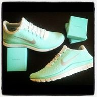 tiffany and co blue nike sneakers