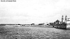 Malecon y Bahia de Norte en San Fco. de Campeche , Campeche Mexico