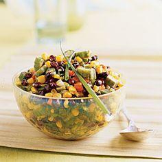 Superfast Vegetarian Recipes   Corn and Summer Vegetable Sauté
